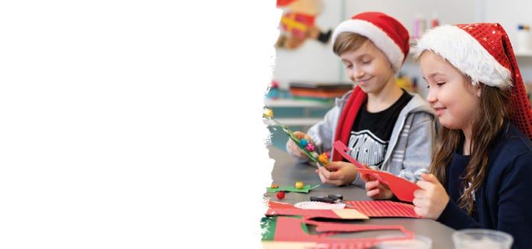 Julepynt med barn