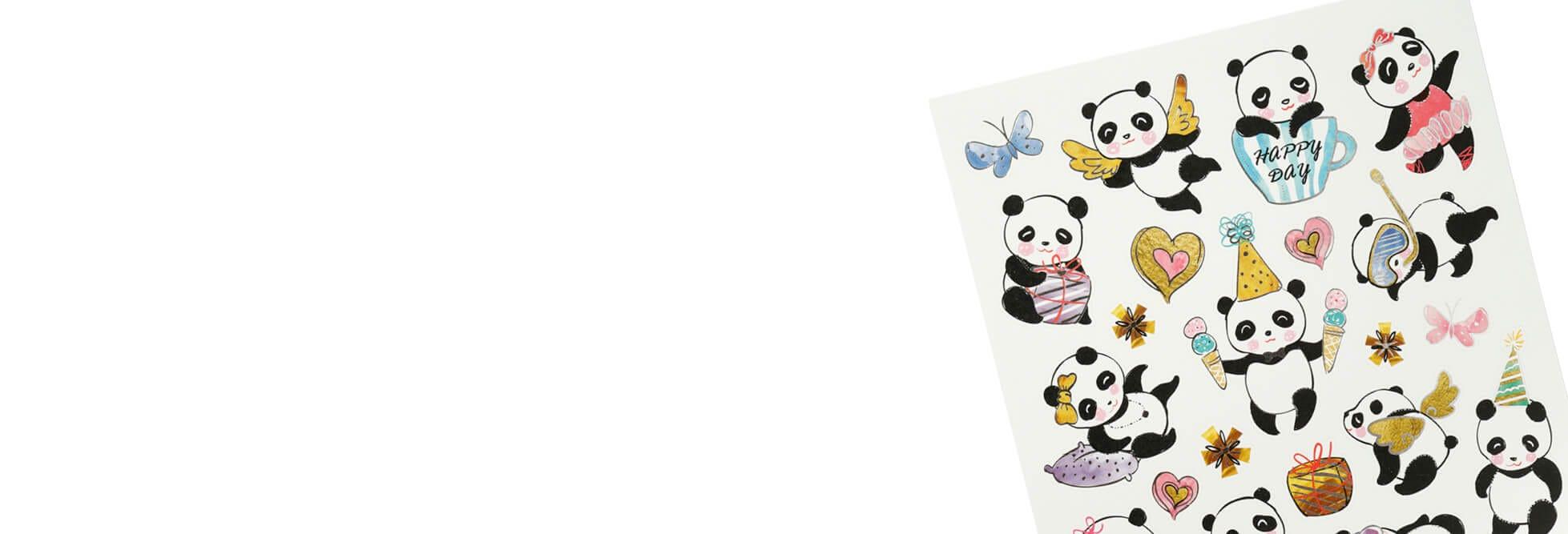 Stickers og glansbilder