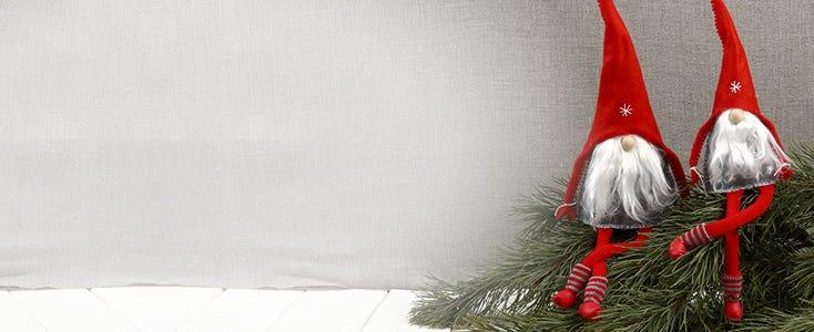 Hjemmelagde nisser og julenisse