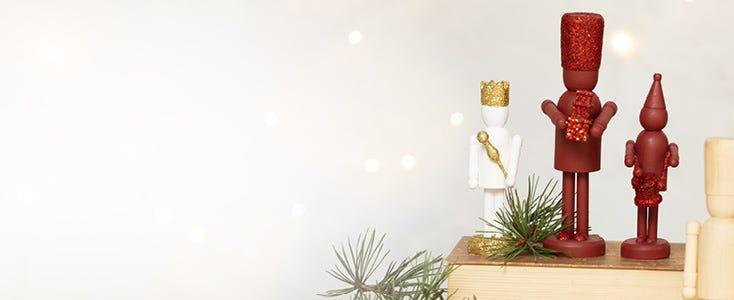 Julepynt med nøtteknekkeren