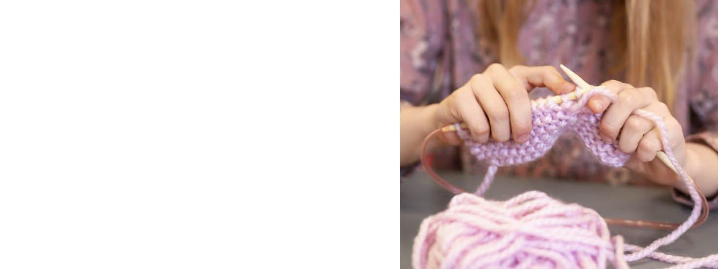 Sy og strikk for barn