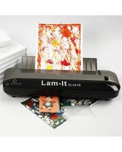 Lamineringsmaskin, A3, 297x420 mm, tykkelse 80-150 my, 1 stk.