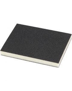 Slipesvamp, Korn 120, str. 9,5x12 cm, 4 stk./ 1 pk.