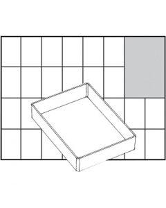 Basisinnsats, nr. A71 Low, H: 24 mm, str. 109x79 mm, 1 stk.