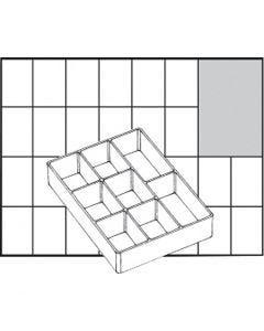 Basisinnsats, nr. A78 Low, H: 24 mm, str. 109x79 mm, 1 stk.