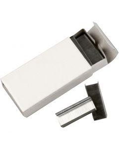Stiftekramper, B: 10 mm, str. #10 , 10x1000 stk./ 1 pk.