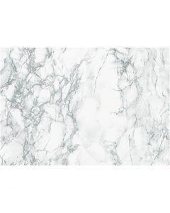Selvklebende folie, marmor, B: 45 cm, grå, 2 m/ 1 rl.
