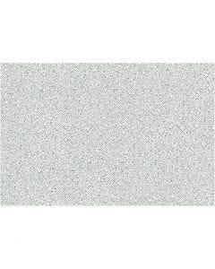Selvklebende folie, fin granitt, B: 45 cm, grå, 2 m/ 1 rl.