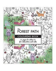 Antistress malebok, The Forest Path, str. 19,5x23 cm, 64 , 1 stk.