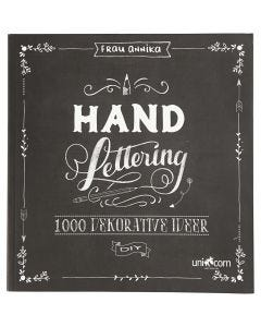 Inspirasjonsbok til 'Hand Lettering' , str. 22x23 cm, tykkelse 2 cm, 143 , 1 stk.