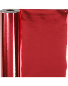 Gavepapir, B: 50 cm, 65 g, rød, 100 m/ 1 rl.