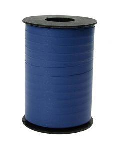 Gavebånd, B: 10 mm, matt, blå, 250 m/ 1 rl.