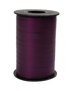 Gavebånd, B: 10 mm, matt, lilla, 250 m/ 1 rl.