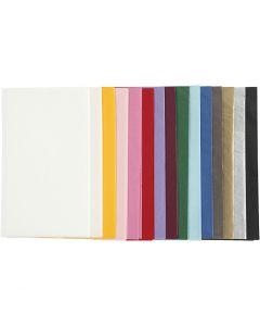 Silkepapir, 50x70 cm, 14 g, ass. farger, 15x2 ark/ 1 pk.