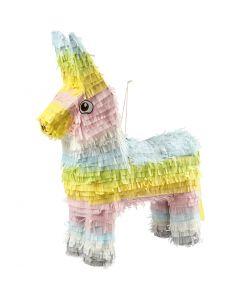 Piñata , str. 39x13x55 cm, pastellfarger, 1 stk.