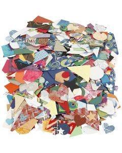 Håndlaget papir, str. 25-130 mm, 110 g, 500 g/ 1 pk.