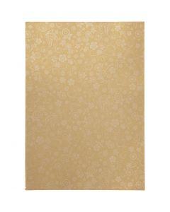 Papir, A4, 210x297 mm, 80 g, gull, 20 ark/ 1 pk.