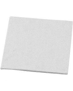 Maleplate, str. 10x10 cm, 280 g, hvit, 1 stk.