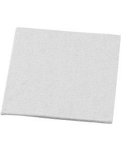 Maleplate, str. 10x10 cm, 280 g, hvit, 10 stk./ 1 pk.