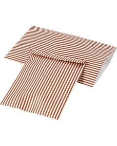 Papirpose, H: 21 cm, B: 11,5 cm, 80 g, 12 stk./ 1 pk.