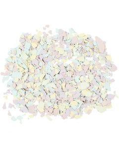 Terrazzo flak, pastellfarger, 90 g/ 1 boks