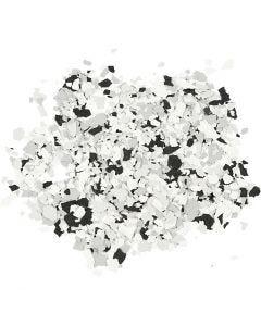 Terrazzo flak, svart, 90 g/ 1 boks
