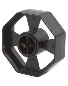 Hjul til borddispenser, B: 25 mm, dia. 7,5 cm, 1 stk.