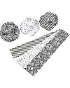 Click ornamenter, dia. 9 cm, str. 5,5x28,4 cm, 9 sett/ 1 pk.