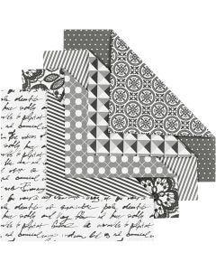 Origamipapir, 80 g, 50 ass. ark/ 1 pk.