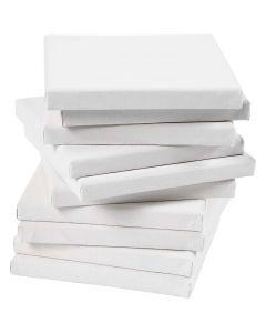 Malelerret, dybde 1,6 cm, str. 15x15 cm, 280 g, hvit, 80 stk./ 1 pk.