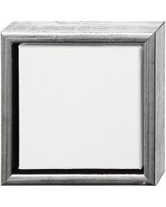 ArtistLine Canvas med ramme, str. 19x19 cm, hvit, 6 stk./ 1 pk.