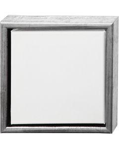 ArtistLine Canvas med ramme, str. 24x24 cm, hvit, 6 stk./ 1 pk.