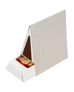 Fyrstikkeske, str. 8,5x5x9,5 cm, 10 stk./ 1 kasse