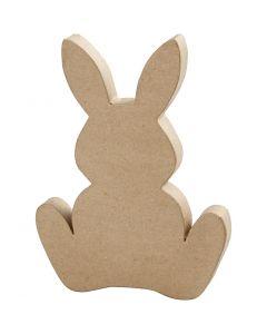 Hare, H: 25 cm, dybde 2,5 cm, 1 stk.
