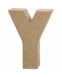Bokstav, Y, H: 10 cm, B: 7,9 cm, tykkelse 1,7 cm, 1 stk.