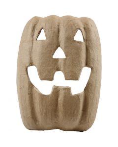 Halloweenmaske , H: 21,5 cm, B: 17 cm, 1 stk.