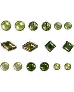 Dekonitter, str. 8-18 mm, grønn, 16 stk./ 1 pk.