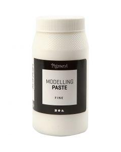 Pigment Modelleringspasta, fin, 500 ml/ 1 boks