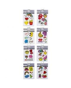 Soft stickers, 12,2x17,75 cm, 8x10 ark/ 1 pk.