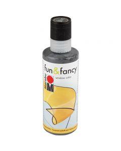 Fun & Fancy, kontur soft svart, 80 ml/ 1 fl.
