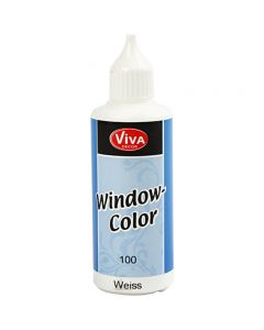 Window Color, hvit, 80 ml/ 1 fl.