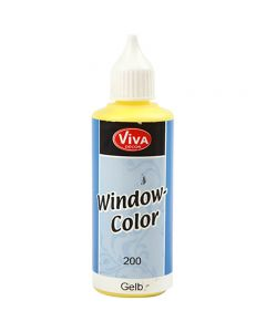 Window Color, gul, 80 ml/ 1 fl.