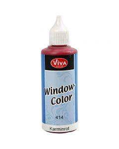 Window Color, karminrød, 80 ml/ 1 fl.