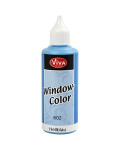 Window Color, lys blå, 80 ml/ 1 fl.