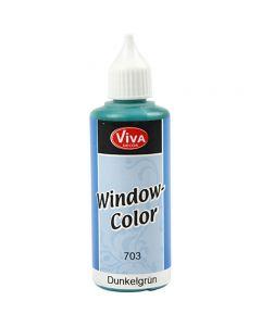 Window Color, mørk grønn, 80 ml/ 1 fl.