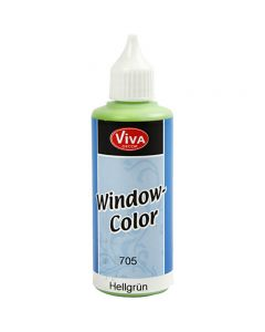 Window Color, lys grønn, 80 ml/ 1 fl.