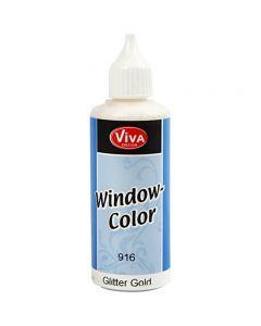 Window Color, gull glitter, 80 ml/ 1 fl.