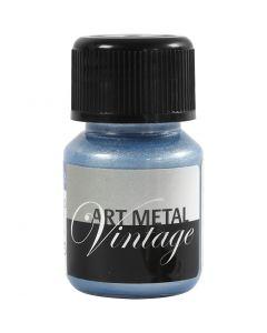 Art Metall maling, pearl blå, 30 ml/ 1 fl.