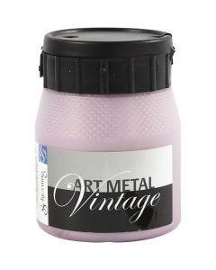 Art Metall maling, pearl rød, 250 ml/ 1 fl.
