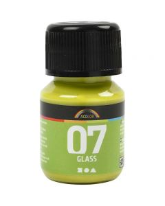 A-Color Glass, kiwi, 30 ml/ 1 fl.
